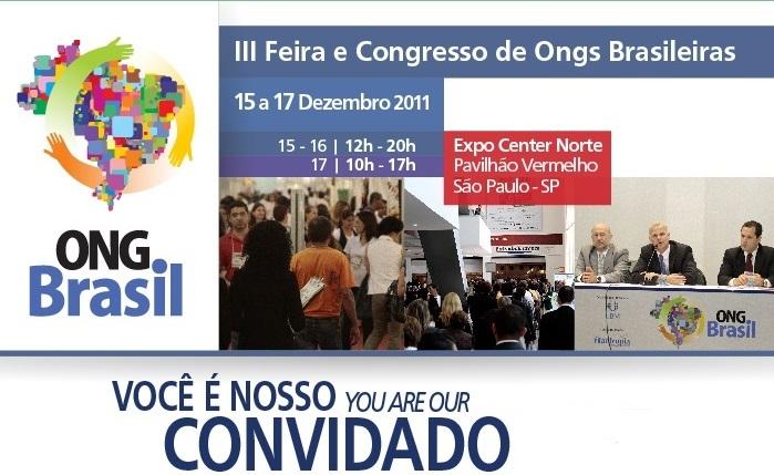 CONVITE ONG BRASIL