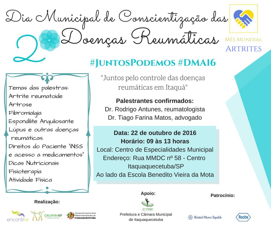Dia Municipal das Artrites Itaquaquecetuba