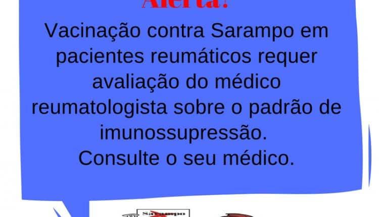 Vacina Sarampo doentes reumáticos